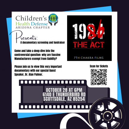 Movie poster for 1986 The Act with featured speaker Dr. Alan Palmer